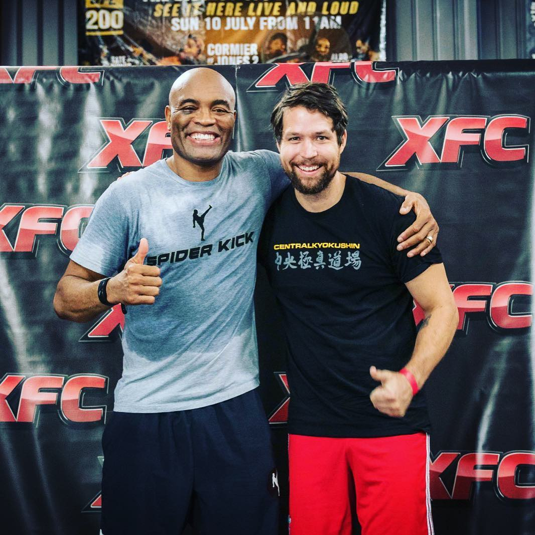 "Anderson ""The Spider"" Silva fight class"